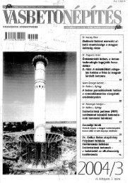 VI. évfoJyamr 3. szám - a fib Magyar Tagozata honlapja - Budapesti ...