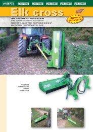 trinciaerba per trattori da 30 a 50 hp flail mower for 30 to 50 tractors ...