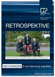 RetRospektive - Sektioun Steinsel Mullendorf Heisdorf - DP