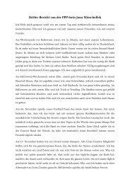 Bericht Nr. 3 - Gerold Reichenbach