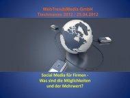 Social Media - Tischmesse Basel