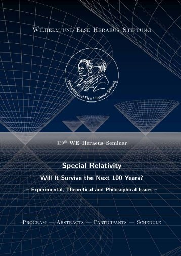 Special Relativity - ZARM