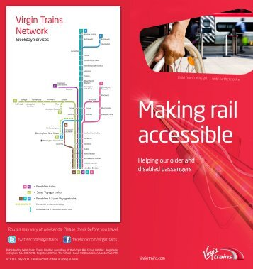 Virgin Trains Disabled Policy