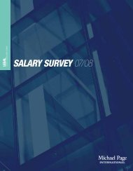 SALARY SURVEY 07/08 - CTHR.hk
