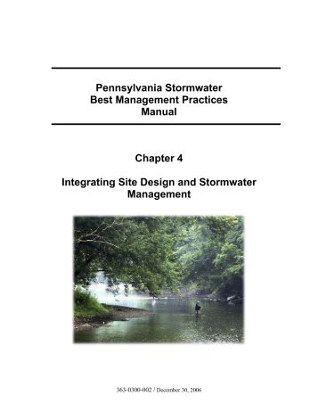 stormwater best management practices manual