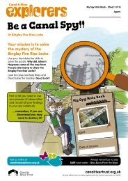 Bingley Locks Fact File PDF - Canal & River Trust