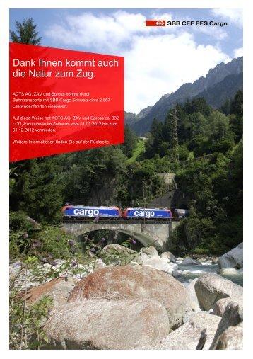 Link: Zertifikat CO2-Einsparungen - ZAV