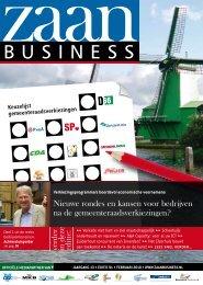 Nieuwe rondes en kansen voor bedrijven na de ... - Zaanbusiness