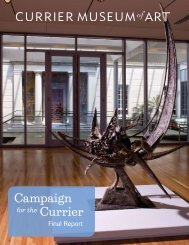 Campaign Currier - Currier Museum of Art