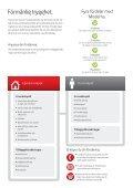 Produktblad - Hemförsäkring - Moderna Försäkringar - Page 2