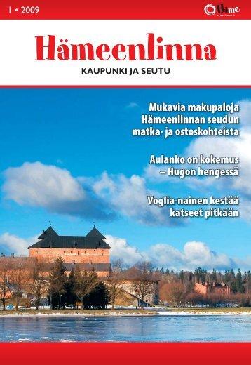 Matkailutabl 1 2009 - Kehittämiskeskus Oy Häme