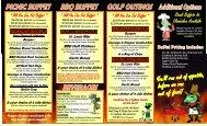Catering Menu - Winking Lizard Tavern