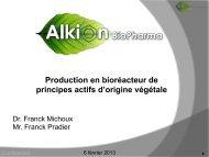 Alkion Biopharma - Genopole