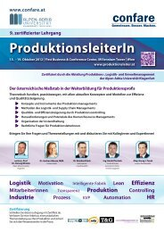 ProduktionsleiterIn - Maintenance and Facility Management Society ...