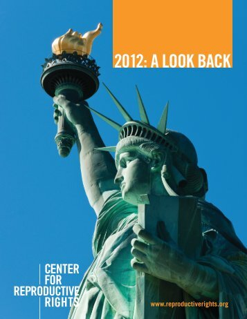 Reproductive Rights in 2012: A Look Back at the States - Center for ...
