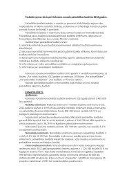 Paskaidrojuma raksts pie Kokneses novada pašvaldības budžeta ...