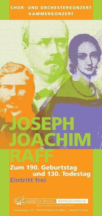 Joseph Joachim Raff
