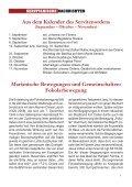 SERVITANISCHE NACHRICHTEN Nr. 3/2012, 38. Jahrgang - Page 5