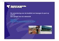Hilde Bax - Dag van het Sportonderzoek