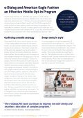 American Eagle Outfitters - Mobile Marketing - e-Dialog - Page 2