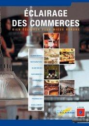 Fiche pratique - Eclairage des commerces (ADEME) - CCI du Jura
