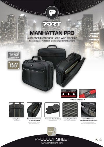 MANHATTAN PRO - Port Designs