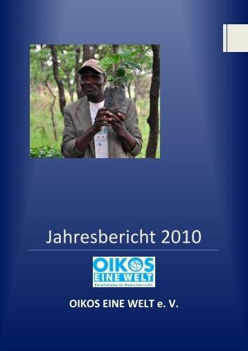 Jahresbericht 2010 - OIKOS Berlin
