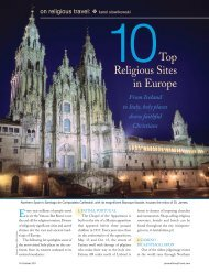 Top 10 Religious Sites.pdf - Leisure Group Travel