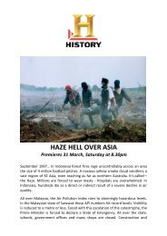 Haze Hell Over Asia Documentary