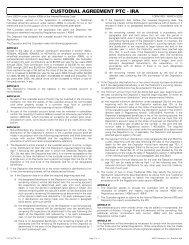 Custodial Agreement PTC - IRA - LPL Financial