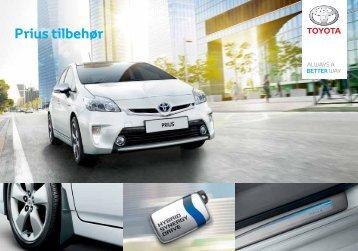 Prius tilbehør - Toyota