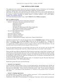 Application Form Joint Project 2008 SEE Doctoral Studies in ... - PMF - Page 4
