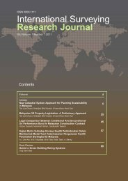 International Surveying Research Journal - RISM
