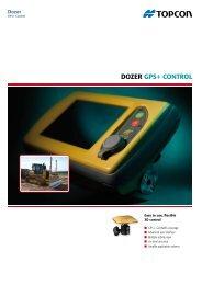 Leaflet Dozer GPS+ Control English - Topcon Positioning