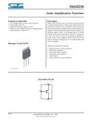 2SA2223A Datasheet - Allegro MicroSystems, Inc.