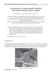 the Yucatan Peninsula, Mexico example - RMZ