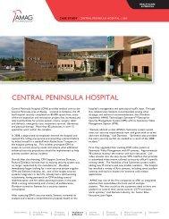CENTRAL PENINSULA HOSPITAL - AMAG