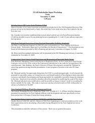 Notes - Connecticut Energy Advisory Board