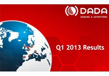 Q1 2013 Results - DADA