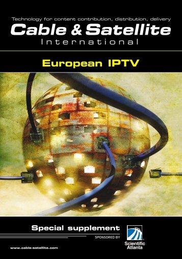 European IPTV - Scientific Atlanta