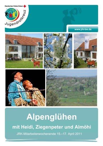 Zum Download hier klicken. - Jugendrotkreuz Baden-Württemberg