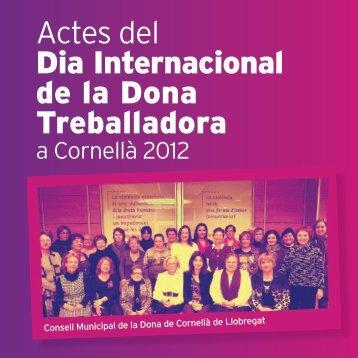 Actes del Dia Internacional de la Dona Treballadora - Ajuntament de ...
