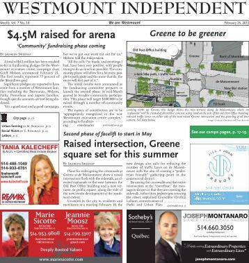February 26 - Westmount Independent