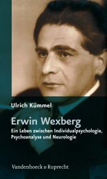 Ulrich Kümmel Erwin Wexberg Ein Leben zwischen - E-cademic