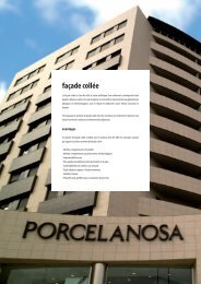façade collée - Porcelanosa
