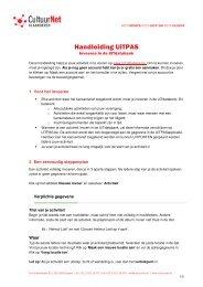 Handleiding UiTPAS - Gemeente Lede