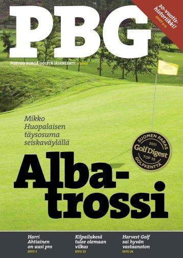 PBG:n jäsenlehti 1/2012