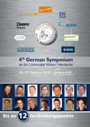 März 2010 - International Bone Management® Symposia