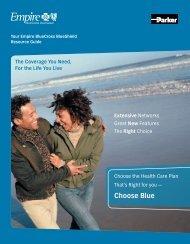 Resource Guide - Empire Blue Cross Blue Shield