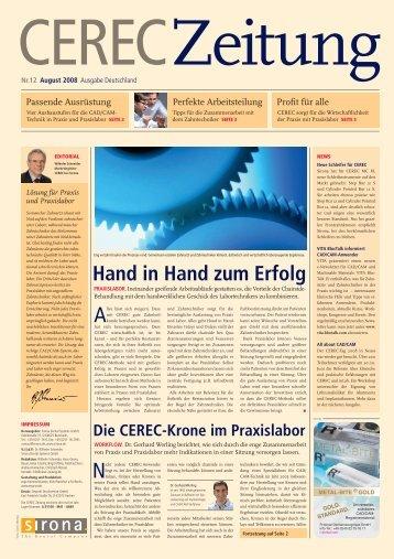 CEREC Zeitung - Sirona